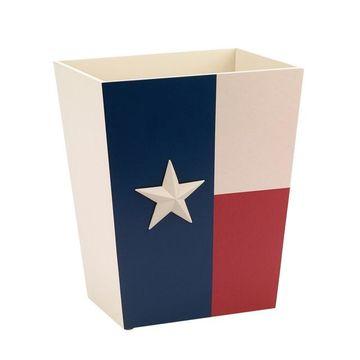 Avanti Texas Star Wastebasket