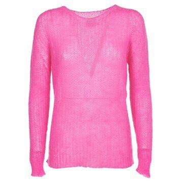 Pink Memories Pink Mohair Sweater