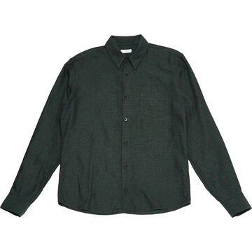 Dries Van Noten Green Cotton Shirts