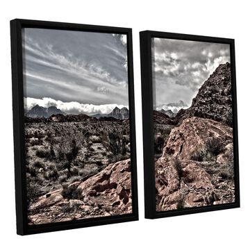 ArtWall Fingertip Afternoon Framed Wall Art 2-piece Set