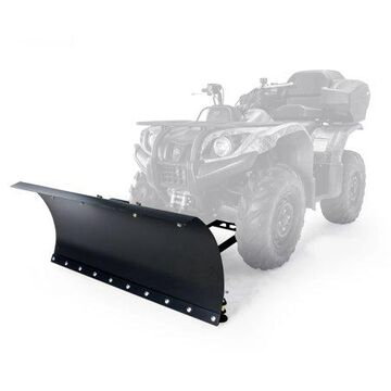 Camco 66016 Black Boar ATV Snow Plow Kit with 9-Position Blade Angle - Adjusts 30 Degrees to Each Side