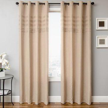 Softline 1-Panel Caruso Window Curtain