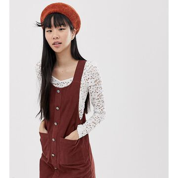 New Look pinny in cord