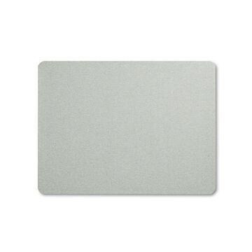 Quartet Oval Office Fabric Bulletin Board 48 x 36 Gray 7684G
