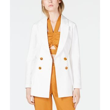 Jada Belted Double-Breasted Blazer