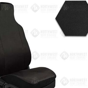 2011 Toyota Tacoma NorthWest Form Fit Truck Seat Covers, 2nd-Row Seat Covers in Black, FF0