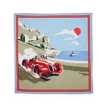 Egara Race Car Pocket Square