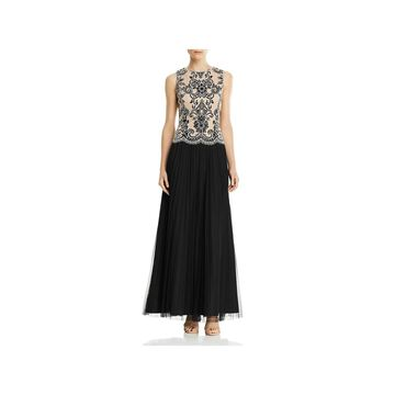 Aidan Mattox Womens Formal Dress Embellished Tulle