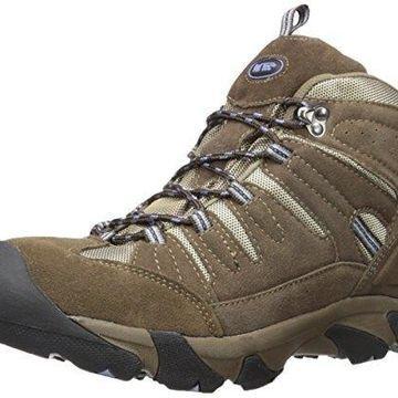 AdTec Women's Composite Toe Hiking Boot & Work, Waterproof 2019C Work Hiker Brown/Lilac Boot, 9.5 M US