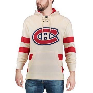 Men's CCM Cream Montreal Canadiens Jersey Pullover Hoodie