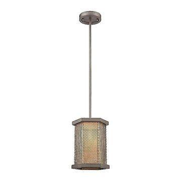 ELK Lighting Crestler Mini Pendant Light - Color: Beige - Size: 1 light - 15664/1