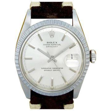 Rolex Datejust 36mm Brown Steel Watches