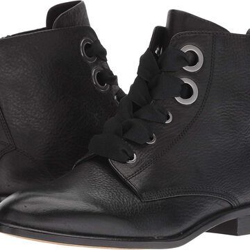 Isola Womens Tocina Leather Almond Toe Ankle Fashion Boots