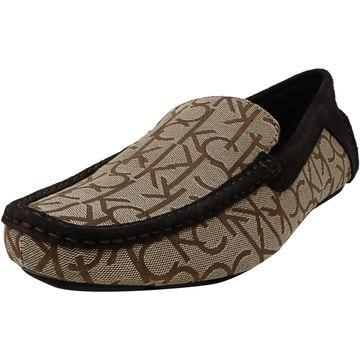 Calvin Klein Jeans Men's Menton Jacquard Ankle-High Loafers & Slip-On