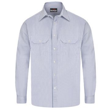 Bulwark Deluxe Excel Flame-Resistant Striped Shirt