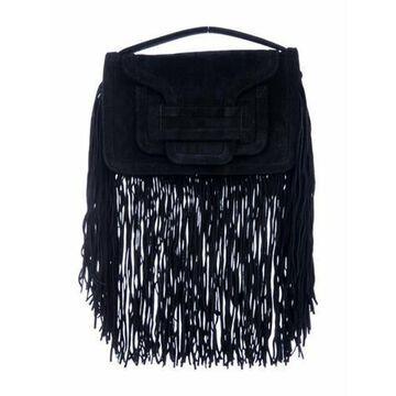 Alpha Trim Shoulder Bag Black