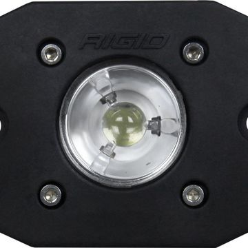 Rigid Industries 20621 Black Flush Mount (Ignite LED Flood)