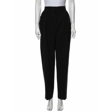Straight Leg Pants Black