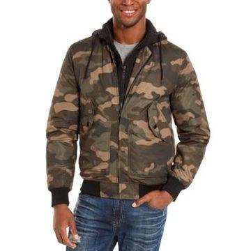 American Rag Men's Cortez Camo Bomber Jacket