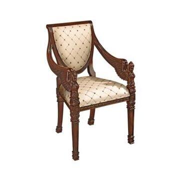 Design Toscano St. Gabriel Neoclassical Armchair