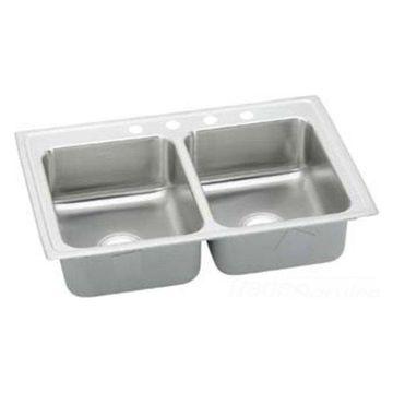 Elkay Lrad2922552 Double Bowl Lusterstone Sink