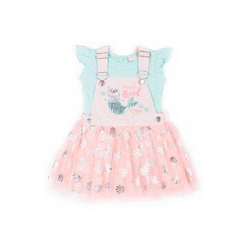 Little Lass 2-pc. Skirt Set Toddler Girls
