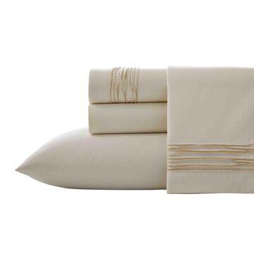 Vera Wang Lux Ripple Pleat Flat Sheet