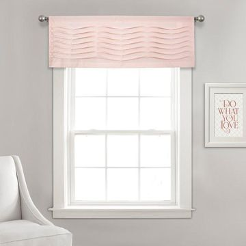 Lush Decor Wave Texture Valance