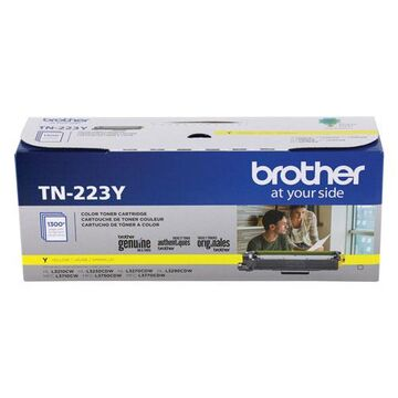 TN223Y Toner, 1300 Page-Yield, Yellow