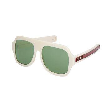 Gucci Unisex Gg0255s 59Mm Sunglasses