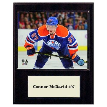 C&I Collectables NHL 12x15 Conner Mcdavid Edmonton Oilers Player Plaque