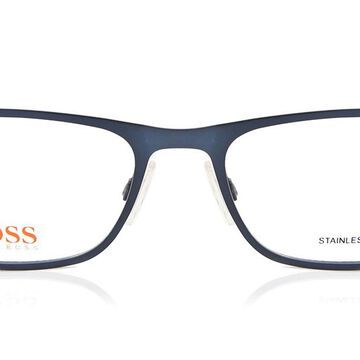 Boss Orange BO 0246 QWI Men's Glasses Blue Size 54 - Free Lenses - HSA/FSA Insurance - Blue Light Block Available
