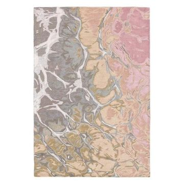 Trans Ocean Corsica Water 9146/37 Striped Rug, Blush, 5'0