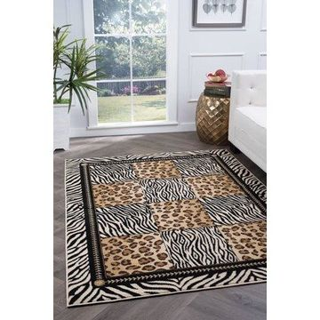 Bliss Rugs Maggie Transitional Area Rug