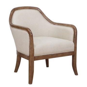 Pulaski Farmhouse Accent Chair