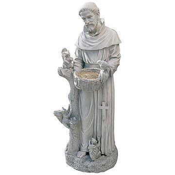 Design Toscano St. Francis Garden Feeder Statue