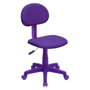 Offex Purple Fabric Ergonomic Task Chair