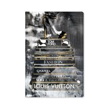Oliver Gal Clear Fashion Thoughts Night Canvas Art - 15