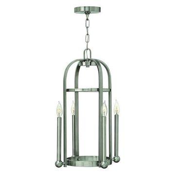 Hinkley Lighting Landon 4 Light Foyer 1 Tier, Brushed Nickel - 3013BN