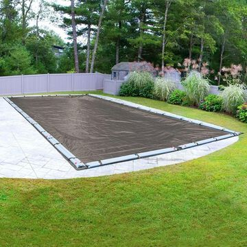 Robelle Magnesium Winter Pool Cover for Rectangular In-Ground Pools