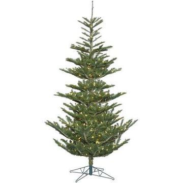 Vickerman 6' Alberta Spruce Artificial Christmas Tree with 300 Warm White LED Lights