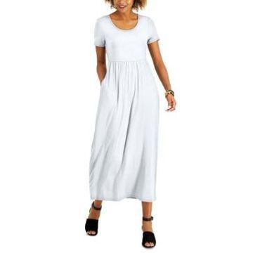 Style & Co Petite Seamed-Waist Maxi Dress, Created for Macy's