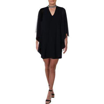 Xscape Womens Short Sheath Party Dress