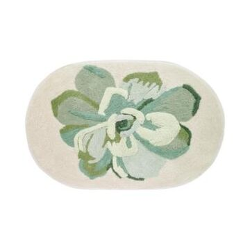 "Avanti Canyon Cotton 20"" x 30"" Tufted Floral Bath Rug Bedding"