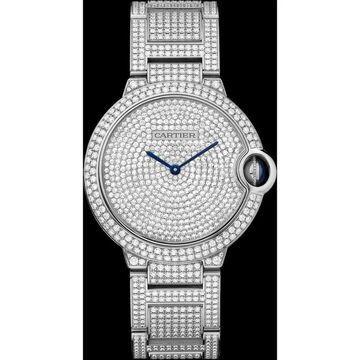 Cartier Women's HPI00581 'Ballon Bleu de Cartier' Diamond Stainless Steel Watch
