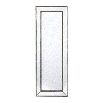 A&B Home Silver Leaf 70.9-Inch x 24.4-Inch Rectangular Wall Mirror