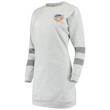 Women's ZooZatz Gray FC Cincinnati Sweatshirt Dress