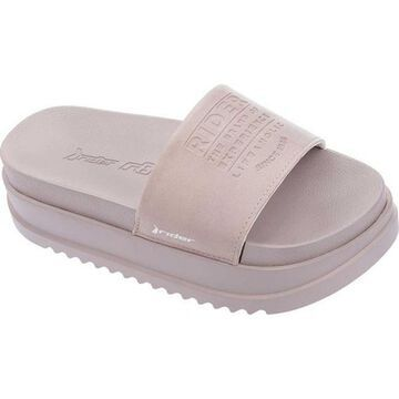 Rider Women's Power Up Plat Slide Beige