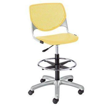 KFI KOOL Home and Office Adjustable Drafting Stool