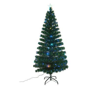 6' Indoor Artificial Fiber Optic Light Up Holiday Xmas Decoration Christmas Tree